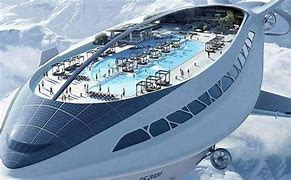 Image result for flying cruise ship