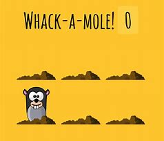 Image result for  free clip art whack a mole