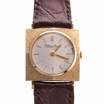Image result for solid gold vintage lucien piccard watches