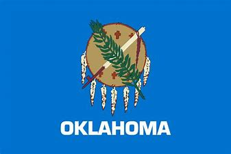 Image result for Oklahoma flag picture 2020