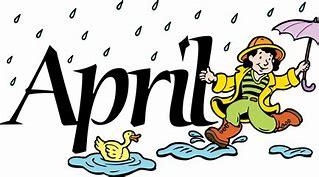 Image result for clip art april
