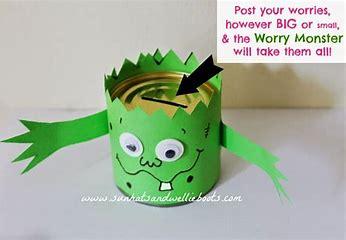 Image result for worry monster homemade