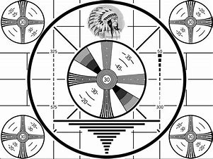 Image result for images 50s tv test pattern