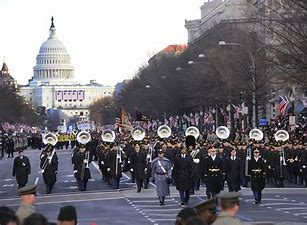 Image result for images most elaborate presidential inauguration parade
