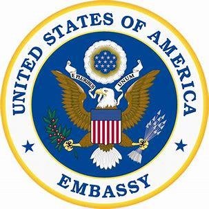 Résultat d'images pour logo us embassy