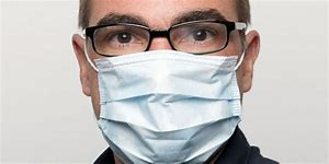 Image result for surgical mask with glasses clipart