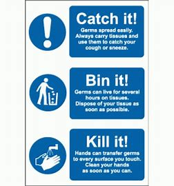 Image result for catch it bin it poster