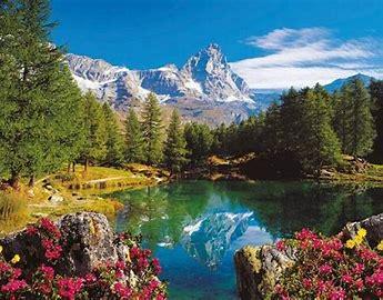 Obraz znaleziony dla: krajobraz górski
