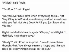 Image result for whinnie the pooh and piglet mental health