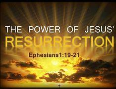 Image result for god's resurrection power