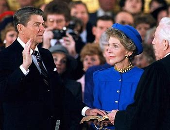 Image result for president ronald reagan inauguration