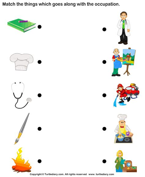 jobs and occupations worksheet community helpers