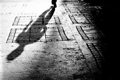 Image result for Man Alone Silhouette