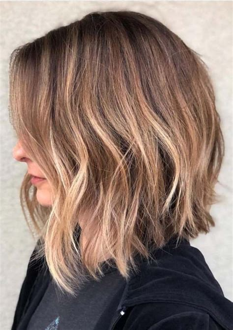STUNNING TEXTURED LONG BOB HAIRSTYLES IDEAS FOR
