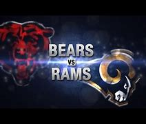 Image result for Bears vs Rams live online