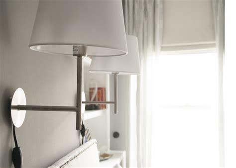 bedroom wall mount swing arm lamps lights for bedroom