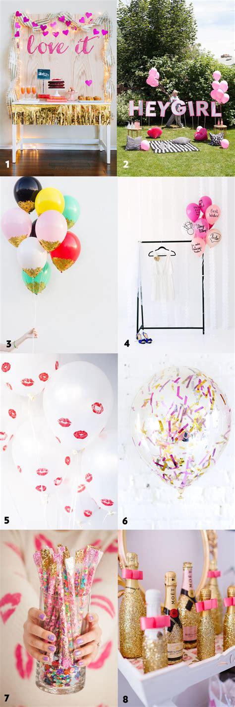 simple and stylish diy bridal shower bachelorette
