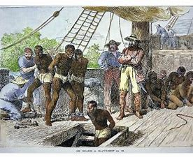 Image result for images african son slave ship 19th century drawoings