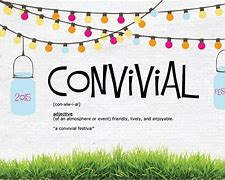 Image result for convival