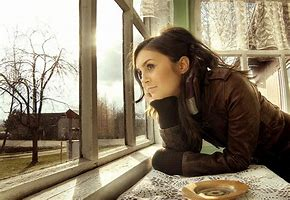 Image result for free pics of  women staring out window