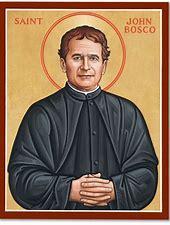 Résultat d'images pour Don Bosco Saint patron des Prestidigitateurs