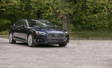 audi a sportback test review car and driver