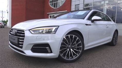 AUDI A COUPE S LINE START UP ENGINE AND IN DEPTH