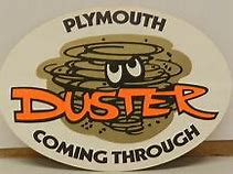 Image result for 1971 plymouth duster decal
