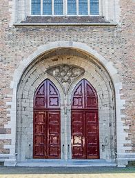 Image result for closed church door