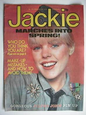 Image result for jackie magazine images