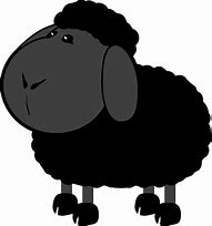 Image result for Black Sheep ClipArt