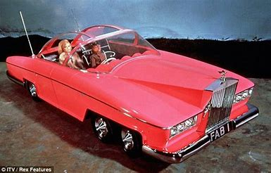Image result for thunderbirds parker and lady penelope images