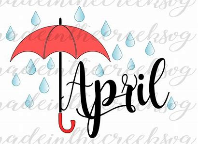 Image result for April Month Clip Art Free