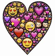 Image result for Love Heart Emoji