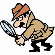 Image result for magnifying glass cartoon