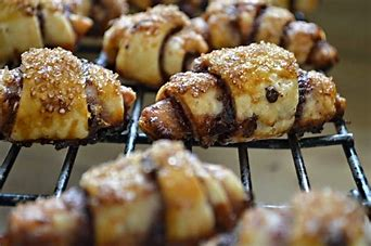 Image result for chocolate raspberry rugelach
