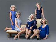 Image result for free pics of group of women grey hair