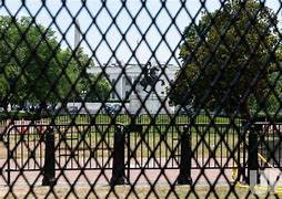 Image result for barriers around washington DC