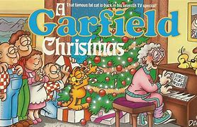 Image result for a garfield christmas