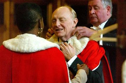 Image result for neil kinnock in robes images
