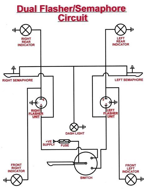 universal turn signal wiring diagram free wiring diagram