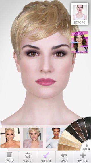 fantastic apps for choosing the best hairstyle apps