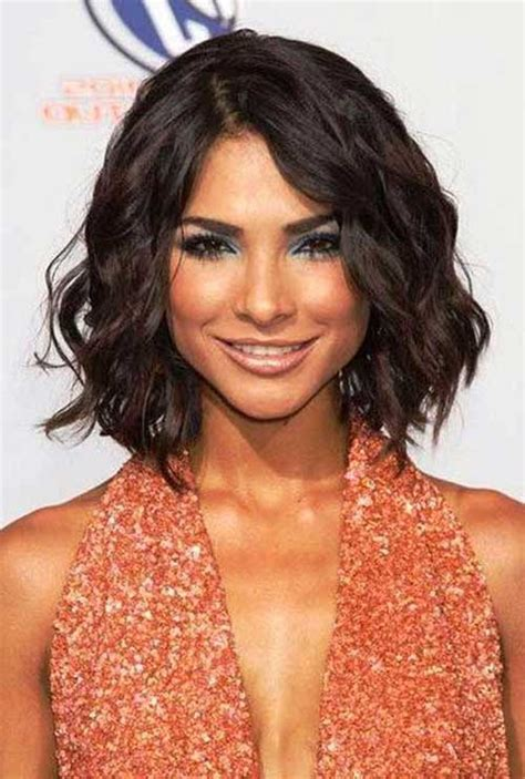 short haircuts for thick wavy hair short hairstyles