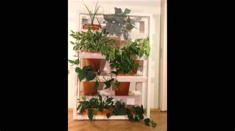 selfmade vertikaler garten bepflanzung youtube