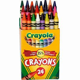 Image result for crayola crayons 24 pack colors