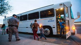 Image result for images of bus laods of illegals