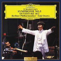 Bildergebnis für ozawa und berlin philharmonic mit tchaikovsky fünf