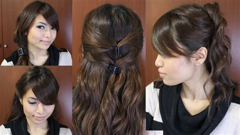 CASUAL FRIDAY EASY HAIRSTYLES FOR MEDIUM LONG HAIR