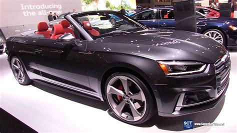 audi s cabriolet exterior and interior walkaround