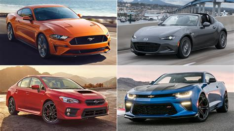 THE BEST CHEAP SPORTS CARS OF THE DRIVE